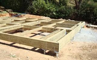 Techno pieux fondation s che - Fondation pour terrasse en bois ...